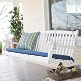 Best Porch Swings - Patio Swing for Two Persons Wood Durable White Review