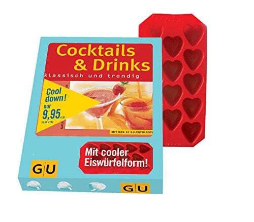 Cocktail-Set: Cocktails & Drinks + Eiswürfelform (GU BuchPlus)