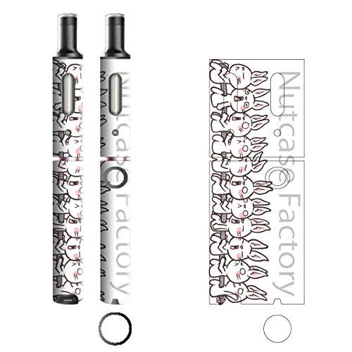 電子たばこ タバコ 煙草 喫煙具 専用スキンシール 対応機種 プルームテックプラスシール Ploom Tech Plus シール Nut Case Factory オリジナルイラスト 04 Nut Case 103-pt08-0004