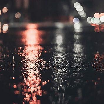 Rain in Shimokitazawa.