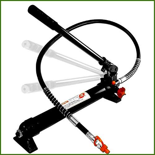 House Deals Hydraulic Pump Machine Porta Power Replacement Ram Frame 10 Ton 20,000LBS Capacity Automotive Repair Tools