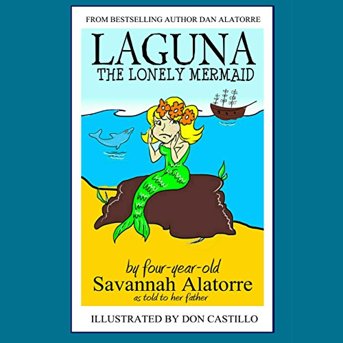 Laguna the Lonely Mermaid audiobook cover art