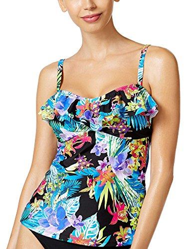 Island Escape Women's Montage Gardens Tankini Top Floral/Multi 8