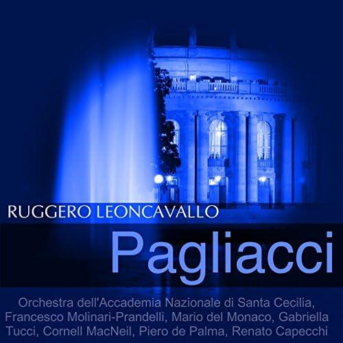 Orchestra dell'Accademia Nazionale di Santa Cecilia, Francesco Molinari-Prandelli, Mario del Monaco, Gabriella Tucci