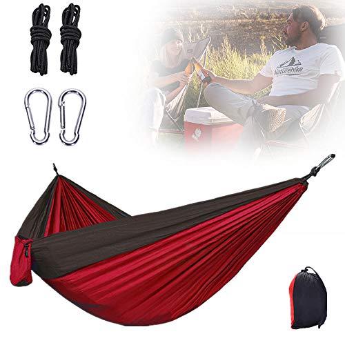 Grote Hangmat, Lichtgewicht Parachute Stoffen Hangbed Met Gemakkelijk Schoon Te Maken En Te Dragen Voor Reizen Buiten Wandelen