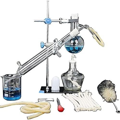 Destilación de aceites Esenciales de Laboratorio, destilador de Agua, Equipo de destilación Pequeño Adecuado para Suministros de Laboratorio de cienci