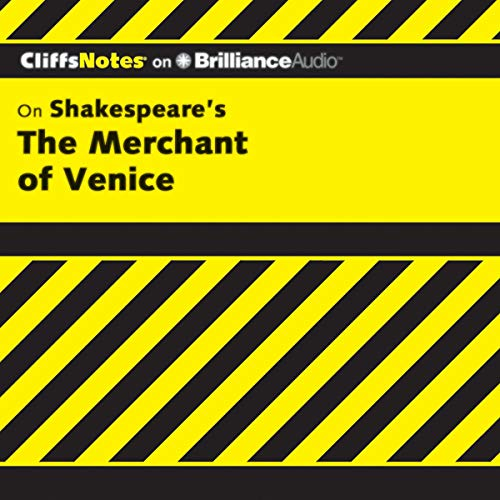 The Merchant of Venice: CliffsNotes Audiobook By Waldo F. McNeir Ph.D. cover art