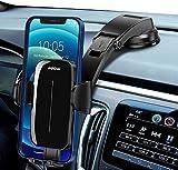 Mpow Support Téléphone Voiture, Support Téléphone de Tableau de Bord de Voiture avec Ventouse Puissante Forte, Compatible avec Smartphone et GPS Appareils