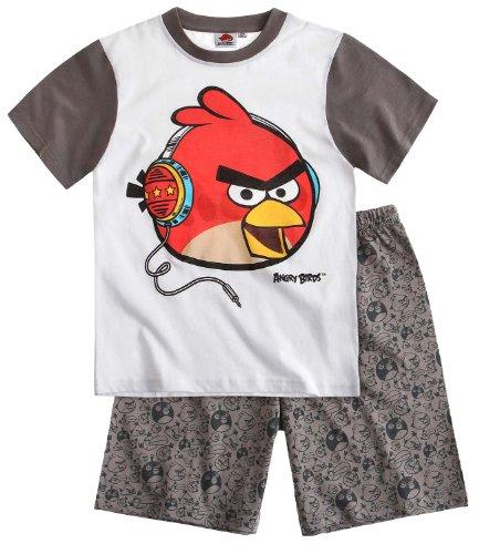 Angry Birds - Pijama corto blanco (104)