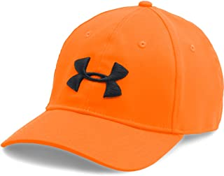 orange under armor hat