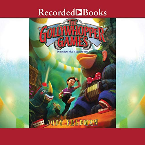 The Gollywhopper Games audiobook cover art