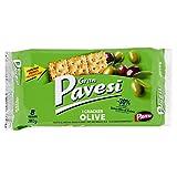 Gran Pavesi Cracker alle Olive, Senza Olio di Palma, 8 pacchetti, 280g...