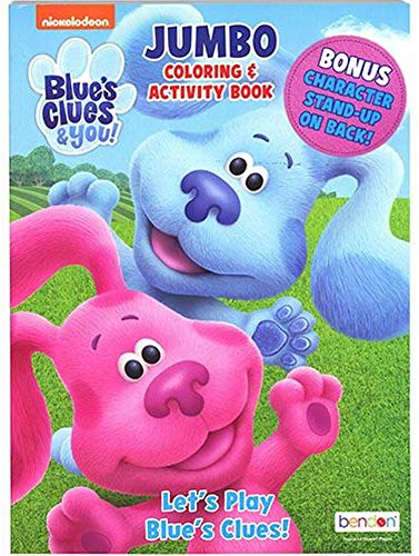 Blue's Clues Coloring Book with Activities Preschool Kindergarten