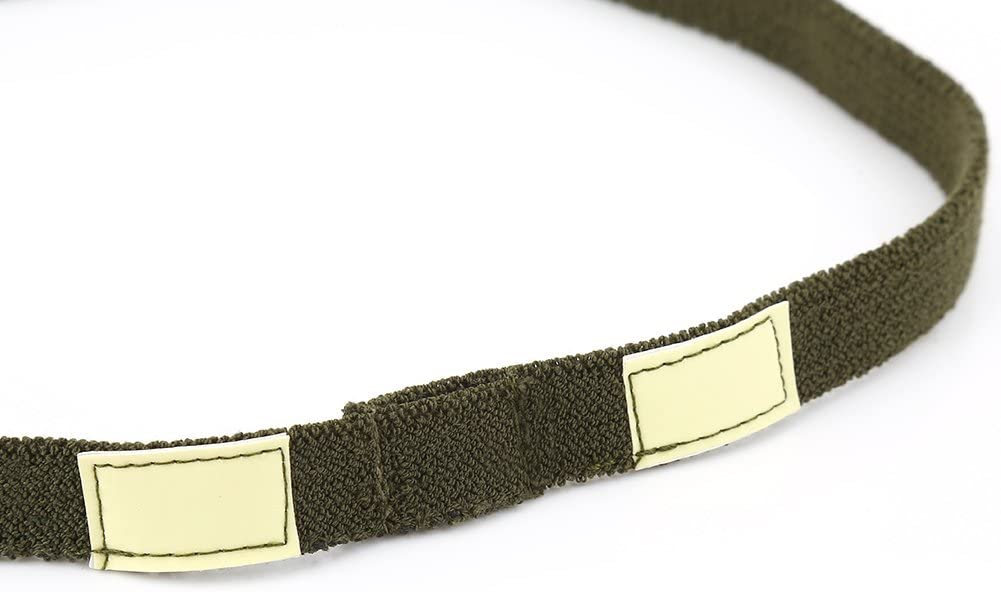 SOONHUA Reflective Camo Strap Helmets Band for M1 M88 MICH Military Helmet Lightweight Army Green