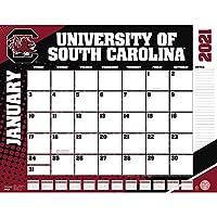 TURNER Sports サウスカロライナゲームコックス 2021 22X17 デスクカレンダー (21998061488)