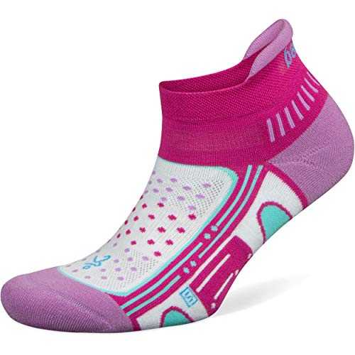 Balega Unisex-Erwachsene Women's Enduro No Show Socks (1 Pair), Bright Lilac, Medium