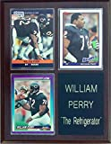 Frames, Plaques and More William The Refrigerator Perry Chicago Bears 3-Card 7x9 Plaque