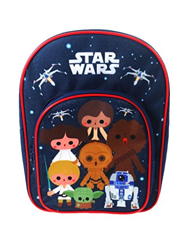 Star Wars Mochila Infantil, Azul Marino (Azul) - STAR001084