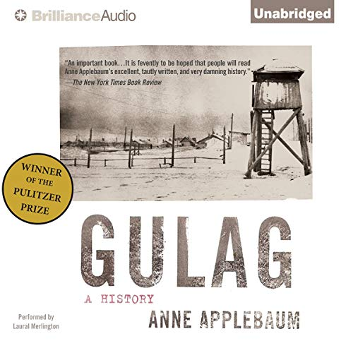 Gulag Audiobook By Anne Applebaum cover art