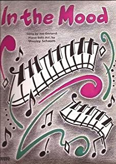 In the Mood Sheet Music Swing Style Piano Solo