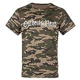 Männer und Herren Tarn T-Shirt Camo OSTDEUTSCHLAND Größe S - 3XL