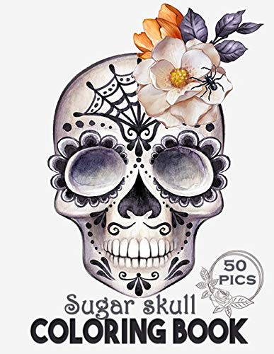 Compare Textbook Prices for Sugar Skull Coloring Book: Intricate Gothic Skull Designs for Adults and Teens  ISBN 9798571058339 by printz