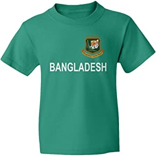 SMARTZONE Cricket Bangladesh Jersey Style Fans Supporter Youth T-Shirt