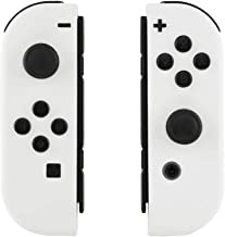 eXtremeRate Console Back Plate, Joycon Handheld Controller Housing with Full Set Buttons, DIY Replacement Housing Shell Case for Nintendo Switch Console and Joy-Con