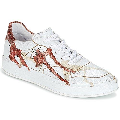 Felmini Crasky Sneaker Damen Weiss/Rot - 41 - Sneaker Low Shoes