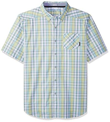 Columbia Herren Decoy Rock Ii Big & Tall Short Sleeve Sport-T-Shirt, Zest Plaid, 1X