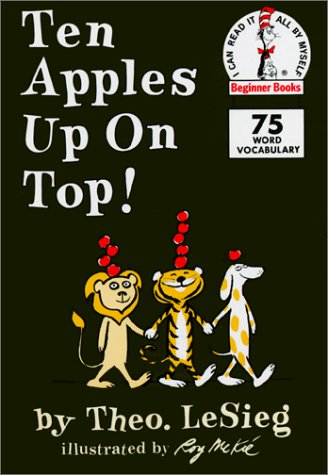 Ten Apples Up on Top! (I Can Read It All by Myself Beginner Books)の詳細を見る