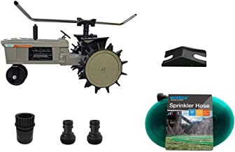 Watex WX44 Traveling Sprinkler and Sprinkler Hose Bundle