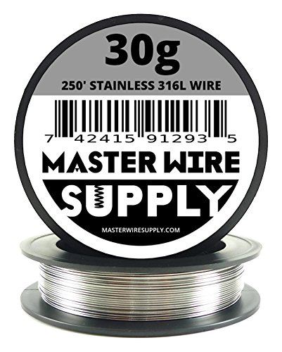 Stainless Steel 316L - 250' - 30 Gauge Wire