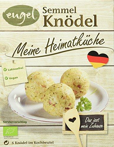 Engel Meine Heimatküche Semmelknödel, Knödel im Kochbeutel, laktosefrei, vegan, 7er Pack (7 x 200 g)