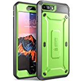 SUPCASE Unicorn Beetle Pro Series Case Designed for iPhone 7 Plus, iPhone 8 Plus Case, with Built-in Screen Protector Full-Body Rugged Holster Case for iPhone 7 Plus/iPhone 8 Plus (Green)