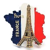 VIDOO Turio Souvenir Preferito Viaggio Resin 3D Frigo Magnete Torre Eiffel...
