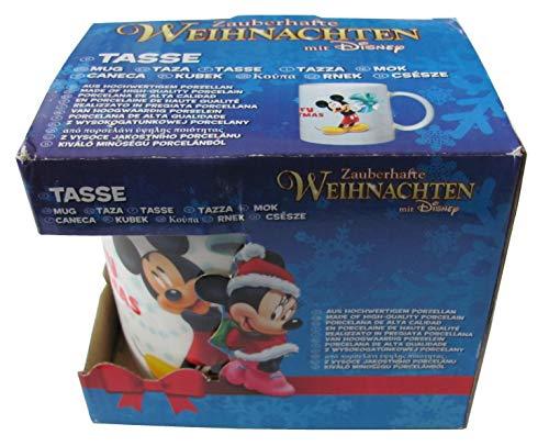 Unbekannt Zauberhafte Noël Disney Tasse Daisy Donald Duck Mickey Mouse Minnie Mouse Gobelet Neuf - 1x Mickey Mouse Tasse