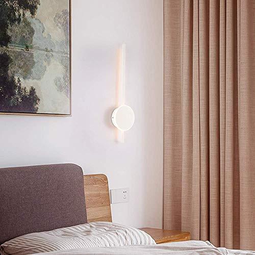 FMOGE Luz De Tocador De Baño Led Moderna De 60 Cm, Luz Frontal De Espejo Largo, Luz Blanca Neutra De 4000 K Led para Gabinete,...