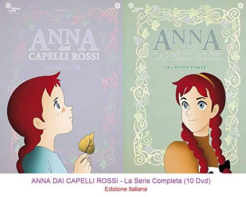 ANNA DAI CAPELLI ROSSI - La Serie Completa (10 Dvd) Ed. Italiana