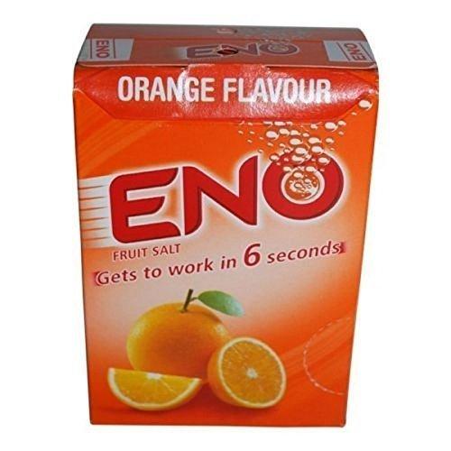 Eno Fruit Salt Orange Antacid Powder Baking Soda for Indigestion, Heartburn, Flatulence 30 Sachets 5 G Each 30 Sachets 5 g Each
