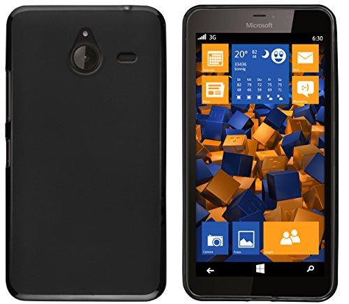 mumbi Hülle kompatibel mit Microsoft Lumia 640 XL Handy Case Handyhülle, schwarz
