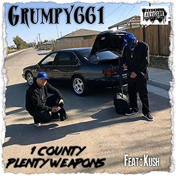 1 County Plenty Weapons (feat. Kush)