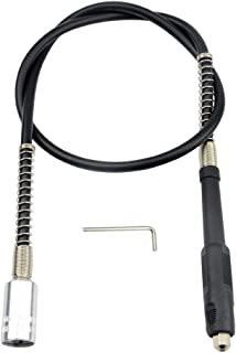 Magiin Eje Flexible para Taladro para Amoladora Eléctrica/Accesorio de Herramienta Rotativa 1070mm