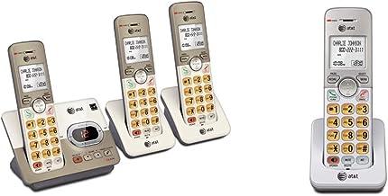 AT&T EL52313 3-Handset Expandable Cordless Phone & EL50003 Accessory Cordless Handset, White   Requires AT&T EL52103, EL52... photo