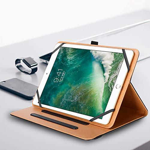 ProCase Universal Hülle für 9-10.1 Zoll Android Tab, Tablethülle Schutzhülle Folio Ständer für 9