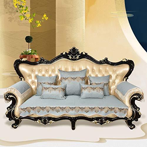 Sofaovertrek, sofaovertrek, voor woonkamer, antislip, universeel, modern, sofa-overtrek voor slaapkamer/seizoen, 4 stuks, bescherming voor meubels wastafel