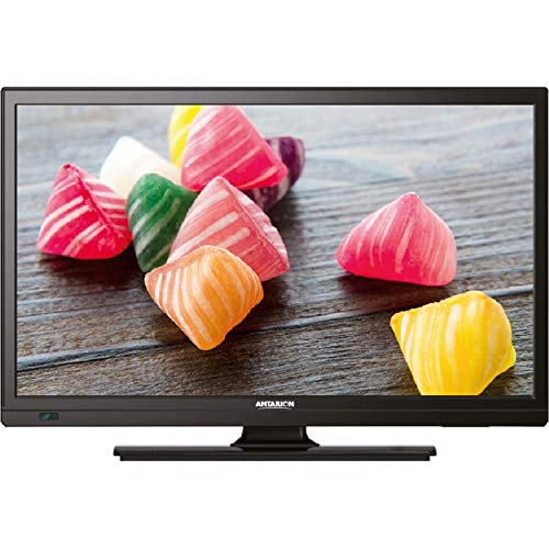 "ANTARION TV1902 TV LED 19"" 48cm Téléviseur HD Camping Car 12V Port USB DVB-T2"