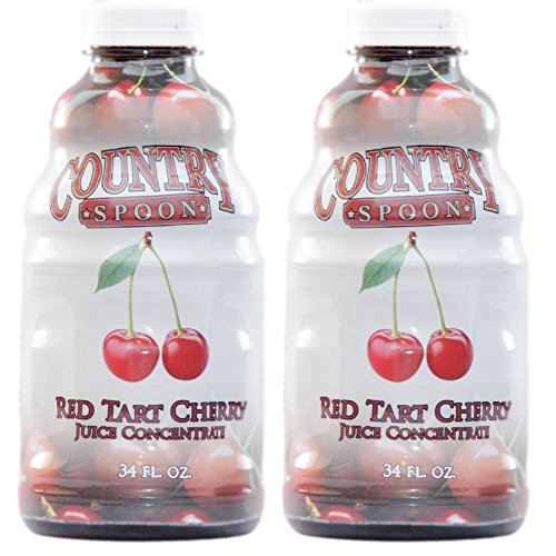 Country Spoon Montmorency Red Tart Cherry Juice Concentrate (34 oz. 2-Pack)