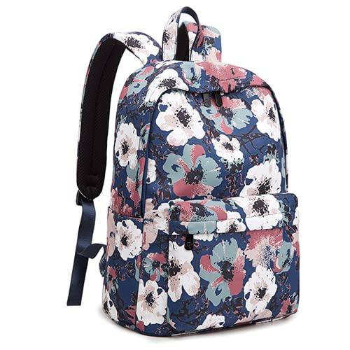 Grúa de impresión impermeable antirrobo estudiantes mochila portátil bolsa grande mochilas para niñas