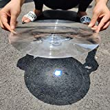 2-Pack Large Fresnel Lenses Φ300mm(11.81') Focal Length 600mm Acrylic Magnifier for Solar Heating,Solar Cooking,Visual Education. (Focal Length 600mm)